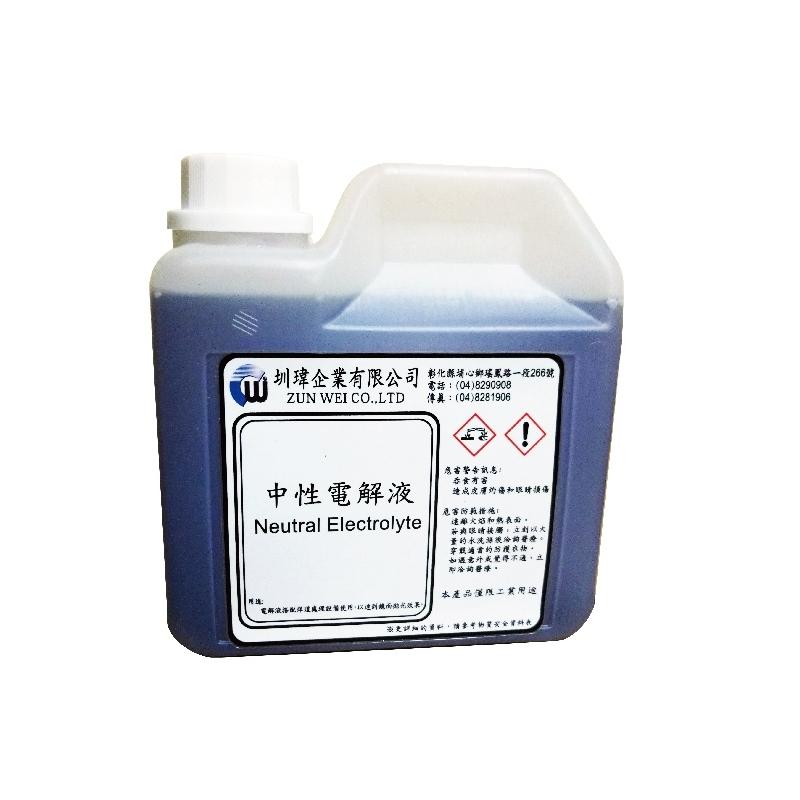 中性電解液